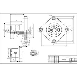 2D CAD Drafting Drawing Services