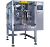 Automatic Servo Control Vertical Pouch Packing Machine with Filler for Four Side Seal Pouch