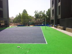 Synthetic Volley Ball Court Construction Service