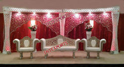 latest indian wedding stage decorations