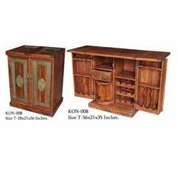 Wine Bar Cabinet Folding