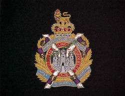 Senior R.S.M Royal Artillery