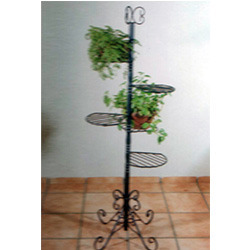 Wrought Iron Park Stand