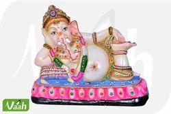 Vaah Resin Decorative Ganesha Statues