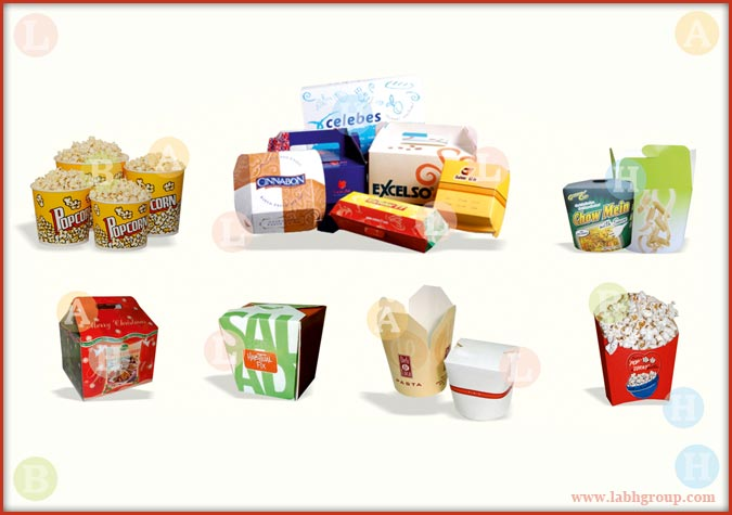 Printed Paper Containers