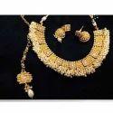 Gold Silver Color Necklace Set