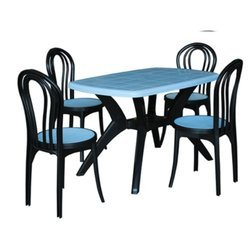 Plastic Dining Table With Chair Luxury Chairs Table Exporter