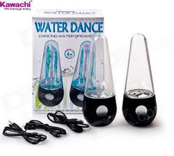 LED Fountain Dancing Water Speakers