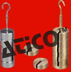 slotted weight brass c p