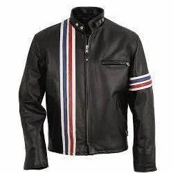 men s leather motorcycle jacket