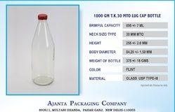 1000 Gm T.k. Lug Bottle