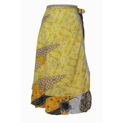 Magic Two Layers Wrap Skirt