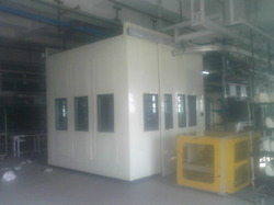 Operator Sound Proof Cabin
