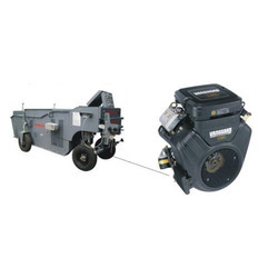 Vanguard Petrol Engines for Concrete Kerbing Machine