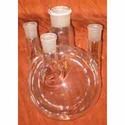 Glass Four Neck Flask