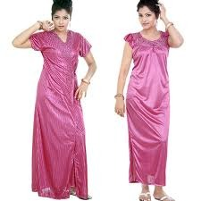Ladies Silk Night Wear