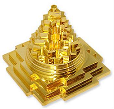 Shree Meru Maha Yantra Golden