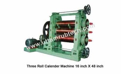 Three Roll Calender Machines