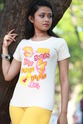 Female White Printed T Shirt