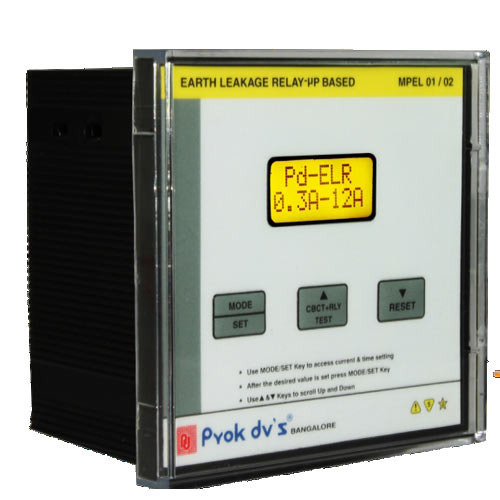 Digital Earth Leakage Relay Manufacturer From Bengaluru