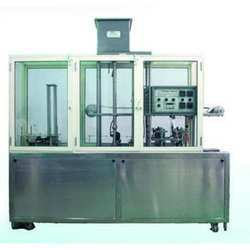 Water Cup Filling And Foil Sealing Machine
