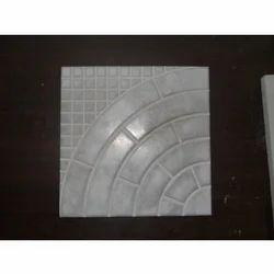 Cement Concrete Chequered Floor Tiles