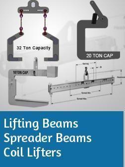 Lifting Beams, Spreader Beams & Coil Lifters