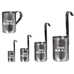 SS Milk Measure Sets