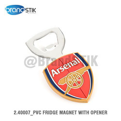 PVC Fridge Magnet with Opener