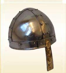 Armor Helmet Norman - Brass Nasal