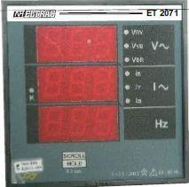 Eltrac Vif 2071 Multifunction Meter