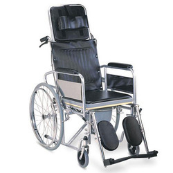 Cushioning Reclining Wheelchair