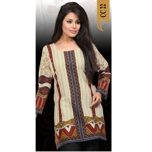 Striking Printed Kurti