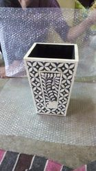 Bone Inlay Vase