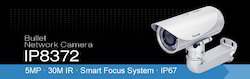 5MP 30M IR Smart Focus System IP67 Network Bullet Camera