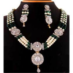 Antique Diamond Jewelry Set