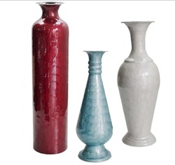 Enamelled Vase