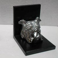 Aluminum Stag Bookend