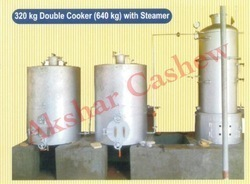 cashew double cooker with steamer