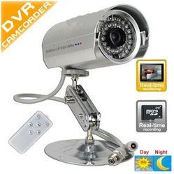 CCTV Camera with Memory Card Slot