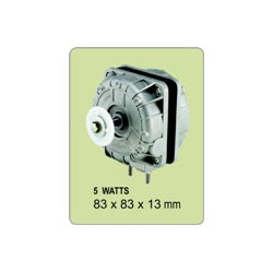 Shaded Pole Motors- Q Type