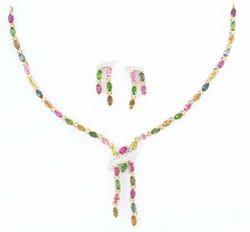 Tourmaline Necklace Set