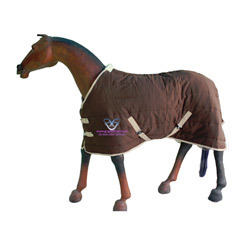 Horse Indoor Stable Rug Brown