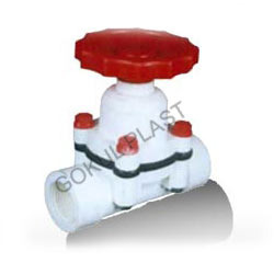 pp diaphragm screwed end valve