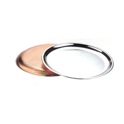 Copper Steel Dinner Plate