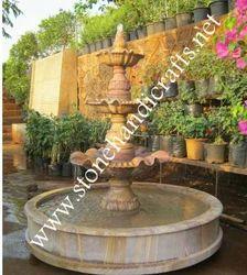 Rainbow Garden Fountain