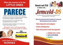 Paracetamol Chlopheniramin Maleate Jemcold Syrup