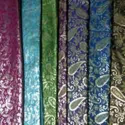 Multi Color Zari Brocade