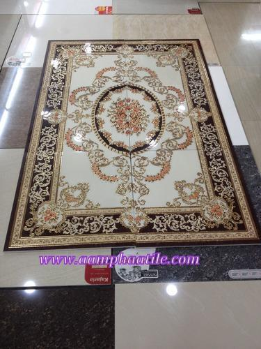 Ceramic Carpet Tile 600x600 Floor Carpet Rangoli Tiles Service