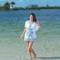 Print Maxi Beach Dress